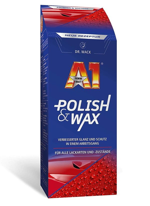 A1 Polish & Wax (250 ml)