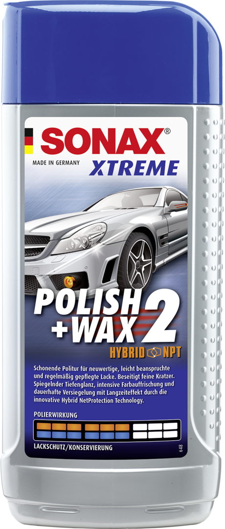 SONAX XTREME Polish+Wax 2 Hybrid NPT (500 ml)