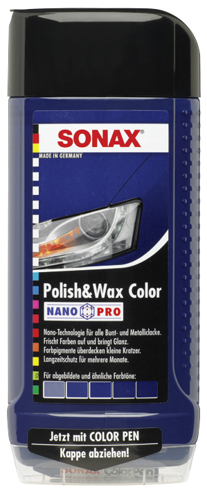 SONAX Polish & Wax Color NanoPro blau (500 ml)