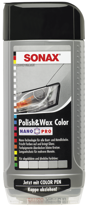 SONAX Polish & Wax Color NanoPro silber/grau (500 ml)